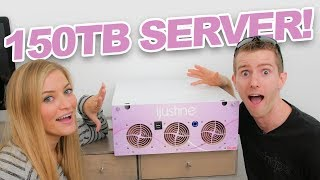 Download NEW SERVER! 150TB server install with Linus! Video