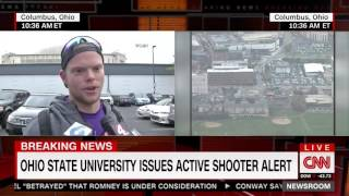Download Ohio State University Student Describes Scene Outside Watts Hall Video