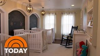 Download Couple Gets Much-Needed Nursery Renovation Ahead Of Triplets   TODAY Video