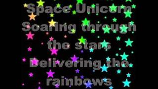 Download Space Unicorn (by Parry Gripp) with lyrics Video