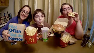 Download Trying Mcdonald's Filet O Fish For The First Time | Gay Family Mukbang (먹방) - Eating Show Video