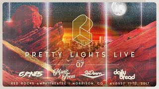 Download Pretty Lights Live @ Red Rocks Amphitheatre - Morrison, CO - 08/12/17 Video