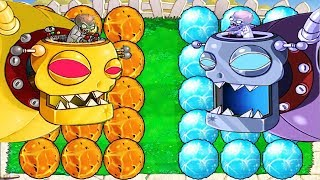 Download Plants vs Zombies Hack - Plant ICE vs Fire vs Dr. Zomboss Video