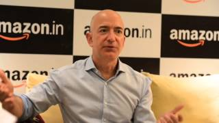 Download Amazon's Jeff Bezos loves India business, ready to invest more | Q&A Video