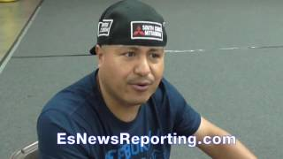 Download Is Mikey Garcia with TMT now? Robert Garcia answers- EsNews Boxing Video