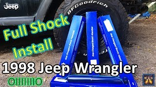 Download In Depth Install | Replace Front and Rear Shocks on a Jeep Wrangler TJ Video