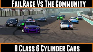 Download FailRace Vs The Community B Class 6 Cylinder Cars Video