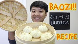 Download EASY DELICIOUS Chinese Pork Bun Recipe (Baozi 包子) Video