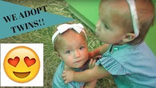 Download We adopted twins Taytum and Oakley!?! I AllInTheFoleyFamily Video
