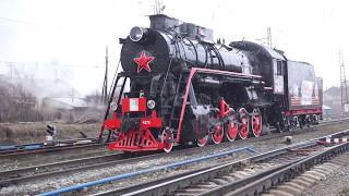 Download How Russian locomotive class L works. Как работает паровоз серии ″Л″ Video