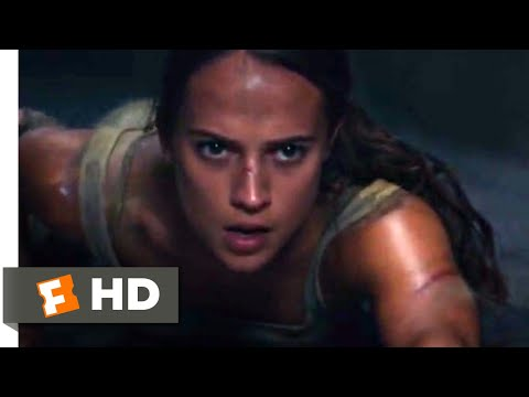 Tomb Raider (2018) - Deadly Traps Scene (8/10) | Movieclips