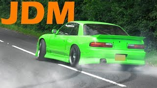 Download 🔰 JDM Cars Leaving a Car show - June 2017 Video