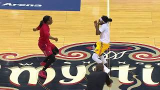 Download WNBA Teams Hold Dance-Off During Delayed Game! Video