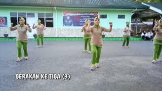 Download SENAM TOBELO PERSIT KODIM 1402/POLMAS Video