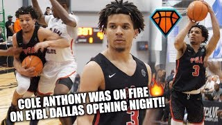 Download ″THAT'S A BUCKET, YO!″ Cole Anthony CATCHES FIRE🔥 IN EYBL DEBUT!! | GOES 6-for-6 FROM DEEP Video