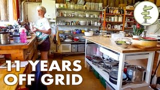 Download 11 Years Living Off-Grid in an Earthship Style House Video