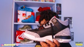Download Jordan Retro 3 Black Cements GS ( 1988, 1996, 2018!) Video