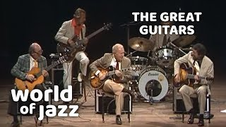 Download The Great Guitars: Barney Kessel, Charlie Byrd and Herb Ellis • 11-07-1982 • World of Jazz Video