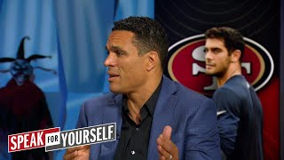 Download Tony Gonzalez explains why the 49ers acquiring Garoppolo was a 'great trade'   SPEAK FOR YOURSELF Video