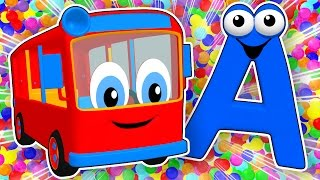 Download SUPER CIRCUS 3D Alphabet Buses | Learn ABCs for Kids, Teach Colors, 3D Baby Rhymes by Busy Beavers Video