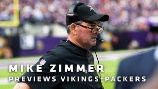 Download Zimmer Details Challenge of Prepping for Rodgers, Praises Hughes and Richardson's Vikings Debuts Video