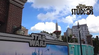 Download Disney's Hollywood Studios Update: Star Wars Land, Toy Story Land & PizzeRizzo Construction Video