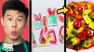 Download Can These Chefs Turn This Elf Drawing Into Real Meals? •Tasty Video