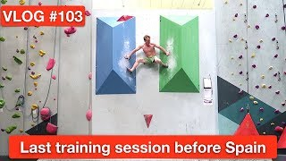 Download LAST TRAINING SESSION BEFORE SPAIN |VLOG #103 Video
