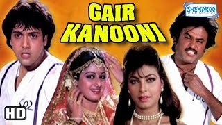 Download Gair Kaanooni {HD} - Govinda - Sridevi - Rajinikanth - 80's Hit Movie Video