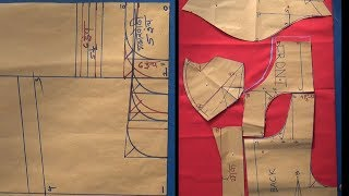 Download गळ्यानुसार बदलणारे शोल्डर व कटोरी ब्लाऊजचे पूर्ण कटिंग Part-1/ Katori Blouse and Shoulder Chart. Video