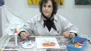 Download Tissue Paper Painting Video