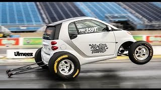 Download NEW RECORD SET! WORLD'S FASTEST SMART CAR RUNS 10.26@130.83MPH AT RT66 Video