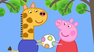 Download Peppa Pig English Episodes in 4K | Gerald Giraffe! | 1 Hour | Cartoons for Children #169 Video