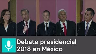Download Debate entre candidatos a la presidencia 2018 Video