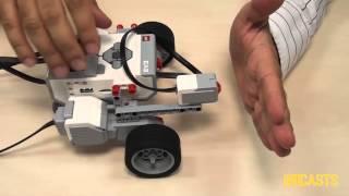 Download EV3 basics course. Touch sensor (part 1) Video