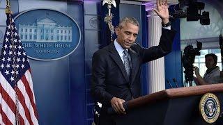 Download Letzte Pk als Präsident: Obama verteidigt Freilassung von Chelsea Manning Video