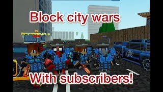Download Block city wars- Hanging out with subscribers and friends! Video
