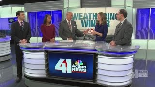 Download 41 Action News meteorologists cast their predictions for this year's winter Video