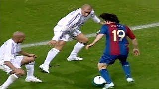 Download 19 Year Old Messi Vs Roberto Carlos, Cannavaro, Ramos... ● Lionel Messi vs Real Madrid (22/10/2006) Video