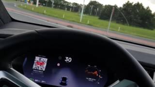 Download Tesla update 2017.28 c528869 Local Road 1 Video