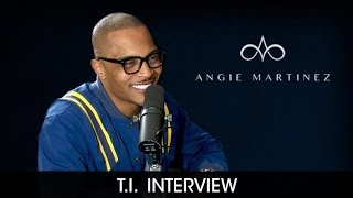 Download T.I. Talks Separation from Tiny, Rumors, Kevin Hart Challenge + The Family Hustle Video