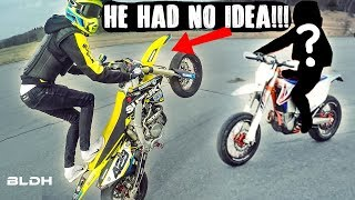 Download BLDH goes Undercover | Supermoto KTM 500 EXC (TRY NOT TO CRINGE) Video