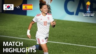 Download Korea Republic v Spain - FIFA U-17 Women's World Cup 2018™ - Group D Video