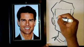 Download How To Draw A Caricature Using Easy Basic Shapes Video