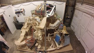 Download Marble Mountain, a themed marble machine (marble run) Video