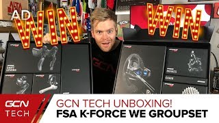 Download GCN Tech Unboxing: NEW FSA K-Force WE Groupset Video