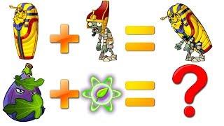 Download Every Plant Power-Up! Plants vs Zombies 2 vs Pharaoh Zombie PVZ (Plantas Contra Zombies 2) Video