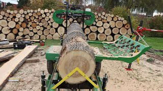 Download Turning Firewood Into Lumber With My HFE 21 Video