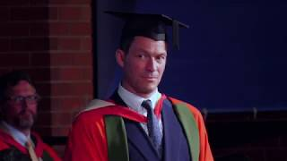 Download Dominic West returns to Sheffield to receive honorary degree Video