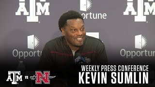 Download Weekly Football Press Conference:   Kevin Sumlin 9.4.17 Video